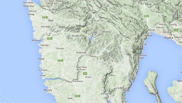 Terenska mapa