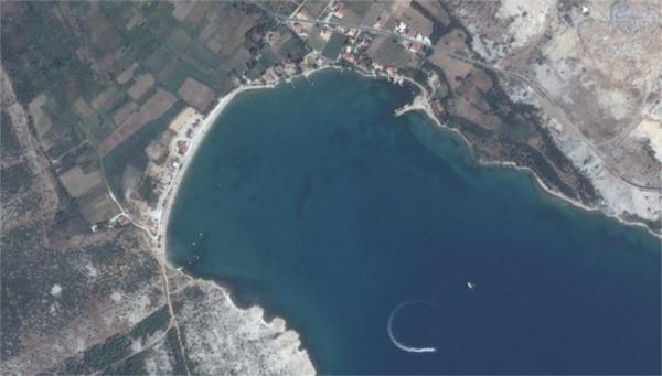 zemljevid Hrvaške obale